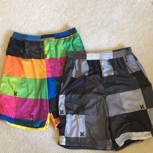 2 Hurley Basketball shorts